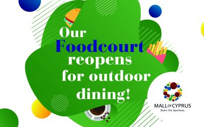 Our Food Court Reopens on 16 March
