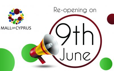 Re-Opening on the 9th of June!