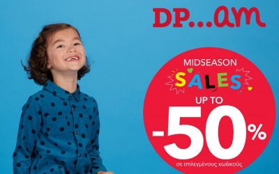 Kids' fashion with up to 50% off at DPAM!