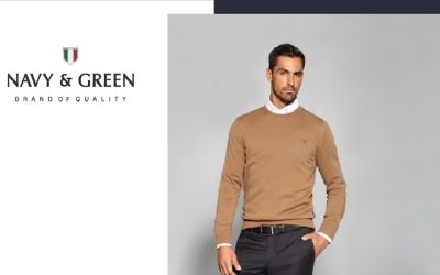 Comfort and style with Navy & Green