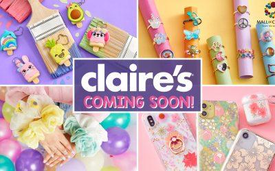 Η εταιρεία Claire's , αναζητά Store manager, για το νέο κατάστημα της, στο Mall of Cyprus.