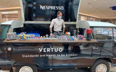 Nespresso Vertuo Campervan